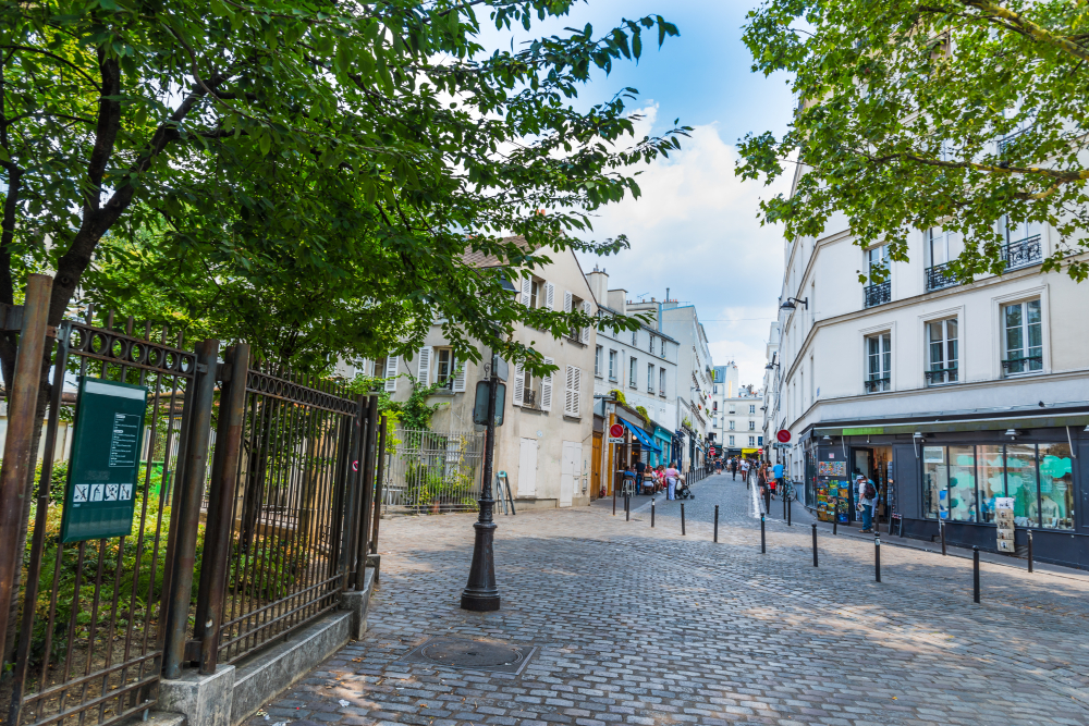 Le quartier des Abbesses